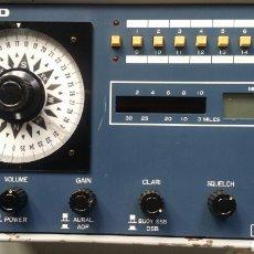 Radio antiche: RADIOGONIOMETRO TAIYO TD A 3300. Lote 167775777