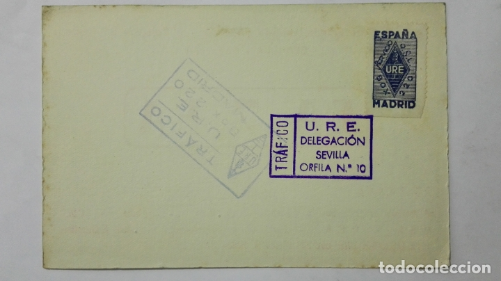 Radios antiguas: TARJETA RADIOAFICIONADO EA-7-EA, SEVILLA , AÑOS 50 - Foto 2 - 172452907