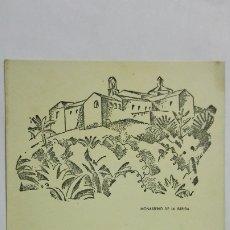 Radios antiguas: TARJETA RADIOAFICIONADO EA-7-GV, HUELVA , AÑOS 50. Lote 172452935