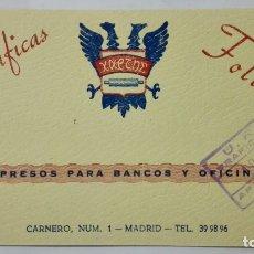 Radios antiguas: TARJETA RADIOAFICIONADO EA-4-776U, MADRID , AÑOS 50. Lote 172453104