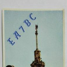 Radios antiguas: TARJETA RADIOAFICIONADO, EA-7-BC, CORDOBA, AÑOS 50. Lote 172478273