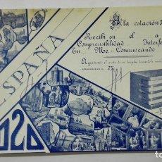 Radios antiguas: TARJETA RADIOAFICIONADO, EA-4020, MADRID, AÑOS 50. Lote 172540568