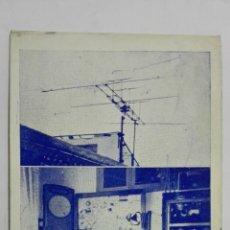 Radio antiche: TARJETA RADIOAFICIONADO, EA-5-BR, CARTAGENA, AÑOS 50. Lote 172580099