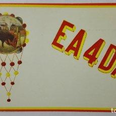 Radios antiguas: TARJETA RADIOAFICIONADO, EA-4-DA, MADRID, AÑOS 50. Lote 172700890