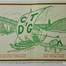 Radios antiguas: TARJETA RADIOAFICIONADO, CT-1-DG, PORTO - PORTUGAL, AÑOS 50. Lote 172707539