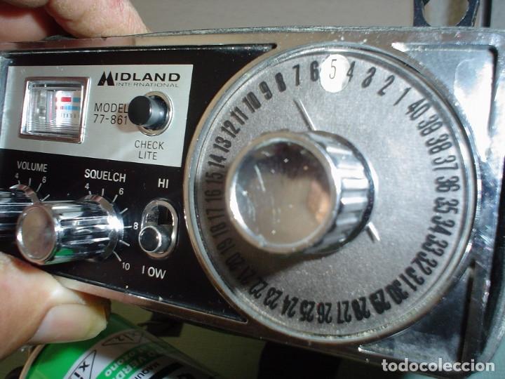 EMISORAS MIDLAND MOD. 77-761 (Radios, Gramófonos, Grabadoras y Otros - Radioaficionados)