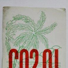 Radios antiguas: TARJETA RADIOAFICIONADO CO-2-QI, HABANA CUBA. AÑOS 50.. Lote 173871823