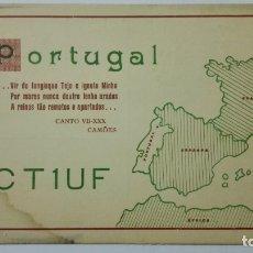 Radios antiguas: TARJETA RADIOAFICIONADO CT-1-UF, PORTUGAL. AÑOS 50.. Lote 173872513