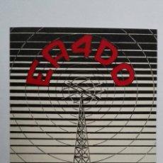 Radios antiguas: TARJETA RADIOAFICIONADO, EA-4-DO, MADRID AÑOS 50. Lote 174023579