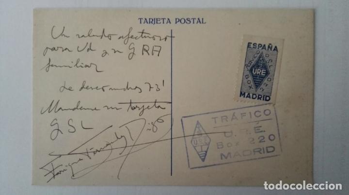Radios antiguas: TARJETA POSTAL RADIOAFICIONADO, ESPAÑA-2-162, SAN SEBASTIAN, AÑOS 50 - Foto 2 - 174023930