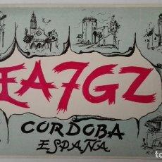 Radios antiguas: TARJETA RADIOAFICIONADO, EA-7-GZ, CORDOBA, AÑOS 50. Lote 174024213