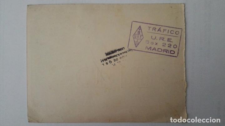 Radios antiguas: TARJETA RADIOAFICIONADO, CT-1-PP, FUORA - PORTUGAL, AÑOS 50 - Foto 2 - 174078637