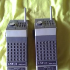 Radios antiguas: WALKIE TALKIE LOTUS. Lote 174167743