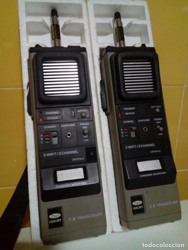 DOS EMISORAS GREAT GT-210 (Radios, Gramófonos, Grabadoras y Otros - Radioaficionados)