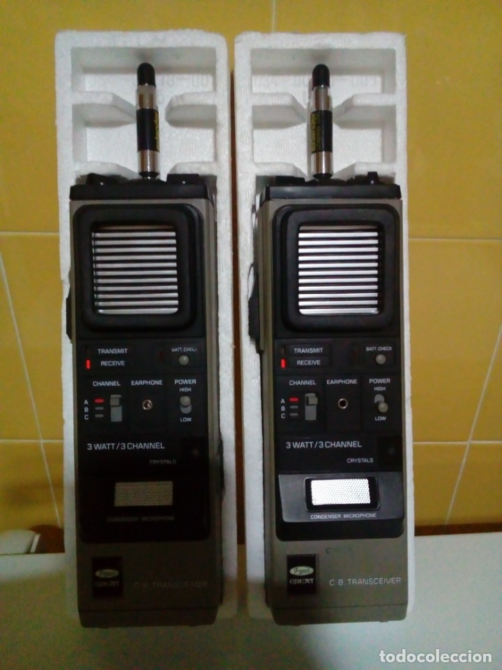 Radios antiguas: DOS EMISORAS GREAT GT-210 - Foto 5 - 174991830