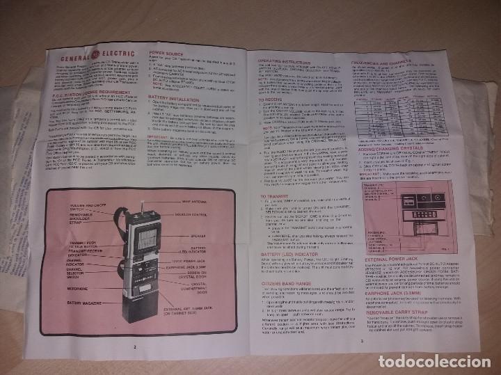 Radios antiguas: TRANSMISORES DE 27MHZ, 3 CANALES 5W - Foto 9 - 175877284
