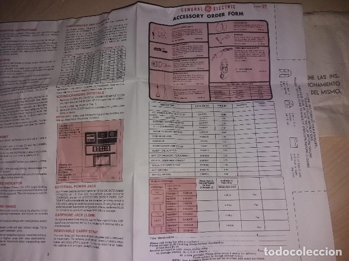 Radios antiguas: TRANSMISORES DE 27MHZ, 3 CANALES 5W - Foto 10 - 175877284