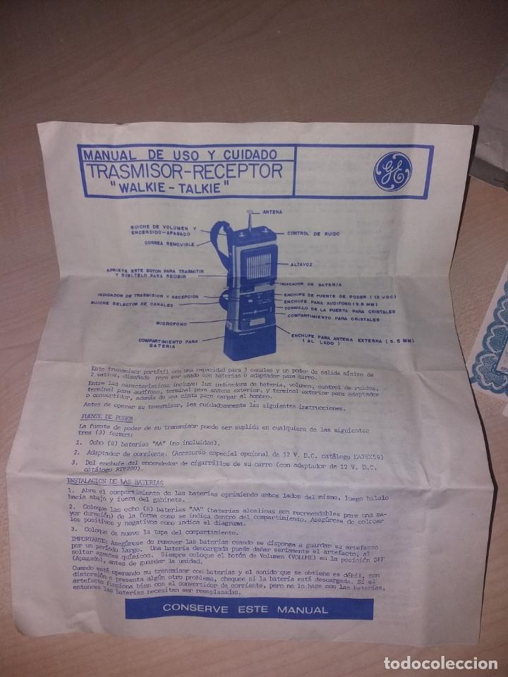 Radios antiguas: TRANSMISORES DE 27MHZ, 3 CANALES 5W - Foto 13 - 175877284