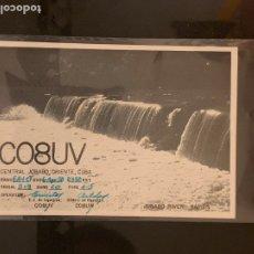 Radios antiguas: TARJETA RADIOAFICIONADO CO8UV CUBA. AÑO 1950.. Lote 176489625