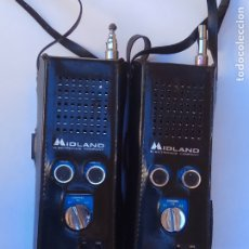 Radios antiguas: ANTIGUA PAREJA DE WALKIE TALKIE MIDLAND MADE IN JAPAN. Lote 178600337