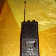 Radios antiguas: WALKIE MODELO GREAT GT-417. 6 CHANNEL, 5 WATTS. ANTENA DESPLEGABLE DE 1,40 CM. FUNCIONA. Lote 178793565
