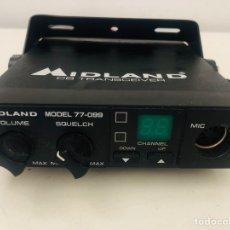 Radios antiguas: MIDLAND 77-099 TRANSRECEIVER. Lote 179405523