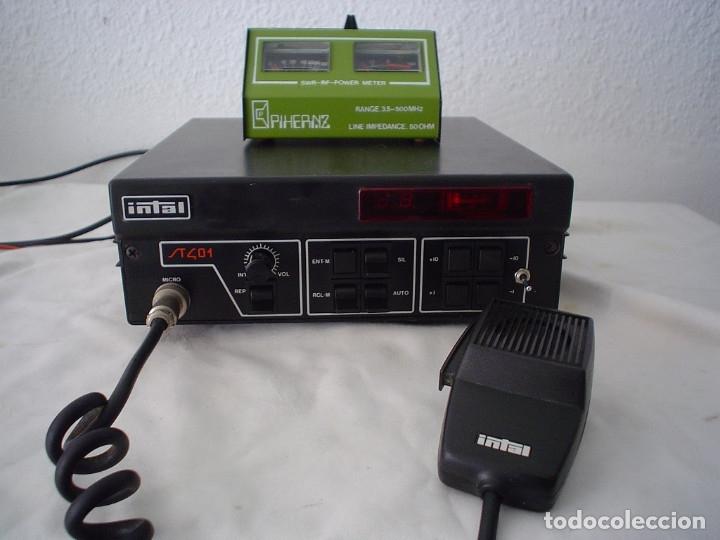 Radios antiguas: EMISORA RADIOAFICIONADO INTAL ST 401 - Foto 2 - 180035111