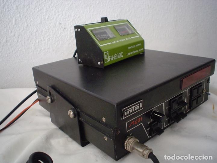 Radios antiguas: EMISORA RADIOAFICIONADO INTAL ST 401 - Foto 4 - 180035111