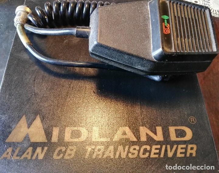 EMISORA MIDLAND ALAN 87 (Radios, Gramófonos, Grabadoras y Otros - Radioaficionados)