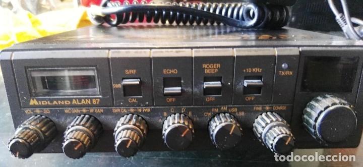 Radios antiguas: Emisora Midland Alan 87 - Foto 2 - 180280436