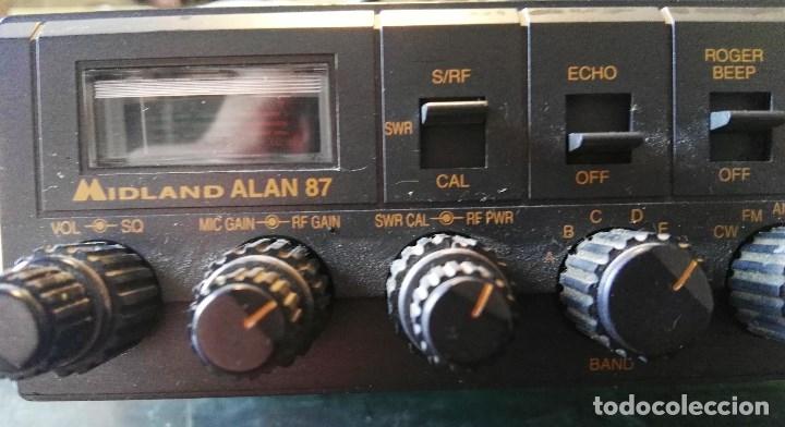 Radios antiguas: Emisora Midland Alan 87 - Foto 3 - 180280436