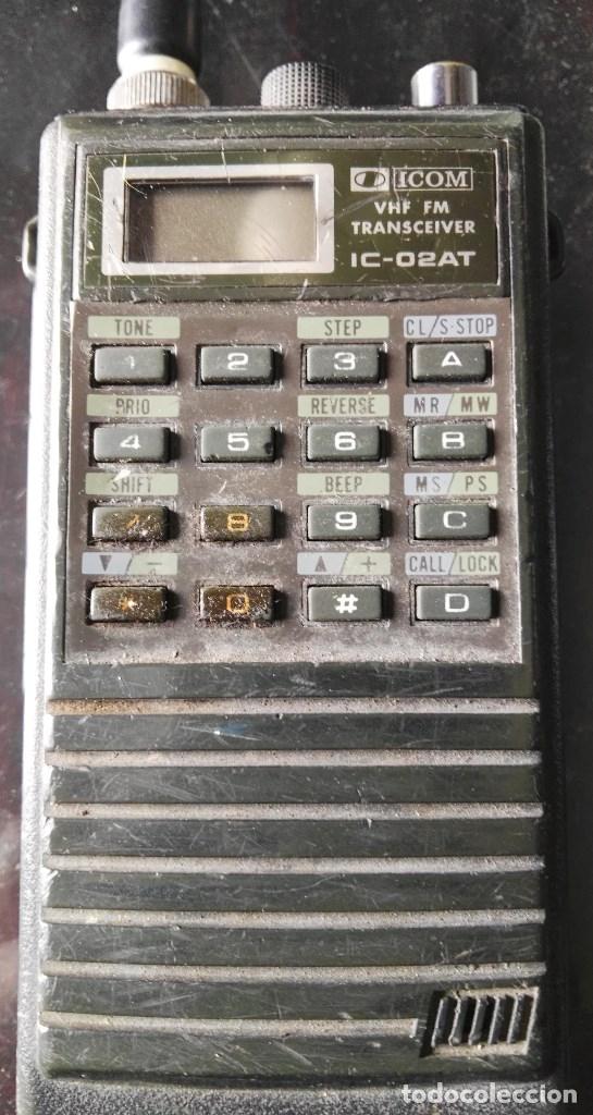 Radios antiguas: Escaner multibanda Icom IC-02At - Foto 2 - 180280788
