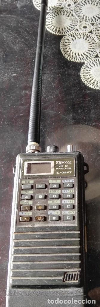 Radios antiguas: Escaner multibanda Icom IC-02At - Foto 3 - 180280788