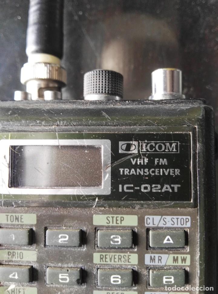 Radios antiguas: Escaner multibanda Icom IC-02At - Foto 4 - 180280788