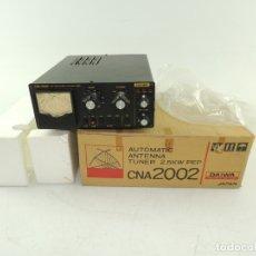 Radios antiguas: AUTOMATIC ANTENNA TUNER 2.5KW PEP CNA 2002 DAIWA JAPÓN . Lote 181818253