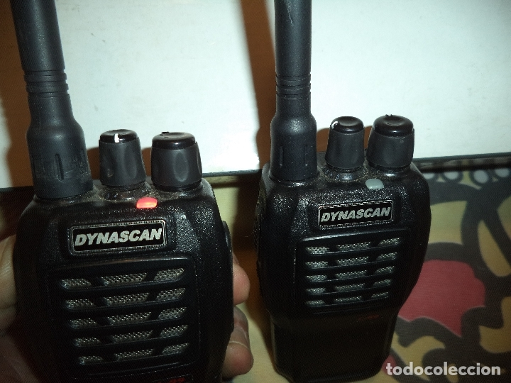 Radios antiguas: dos walkies dynascan l-99 + regalo - Foto 5 - 183001635