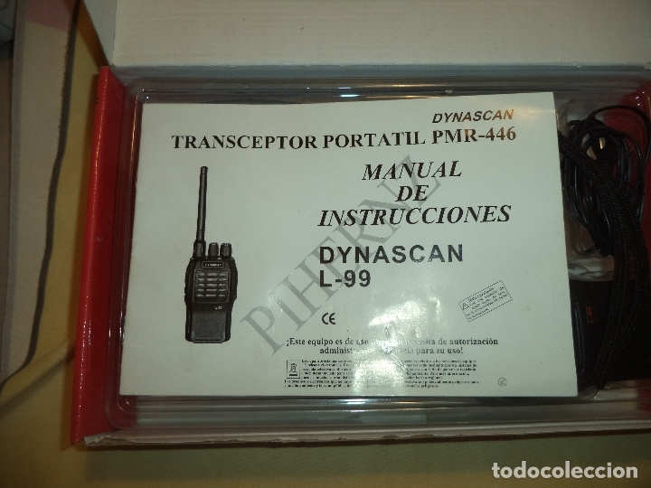 Radios antiguas: dos walkies dynascan l-99 + regalo - Foto 10 - 183001635