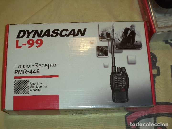 Radios antiguas: dos walkies dynascan l-99 + regalo - Foto 11 - 183001635