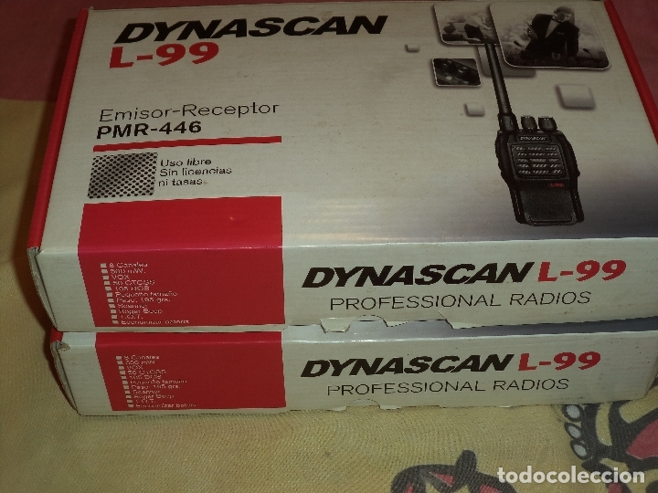 Radios antiguas: dos walkies dynascan l-99 + regalo - Foto 12 - 183001635