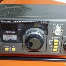 Radios antiguas: RECEPTOR RADIO HF KENWOOD R 1000. Lote 183413155