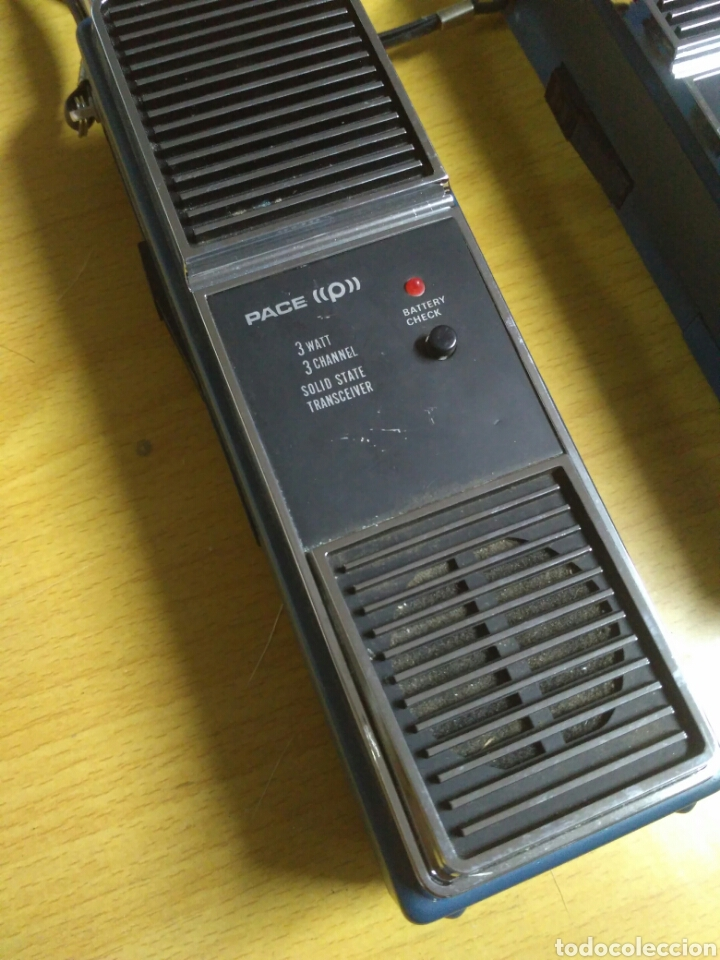 Radios antiguas: Emisoras Pace CB 125 antiguas - Foto 2 - 183510552