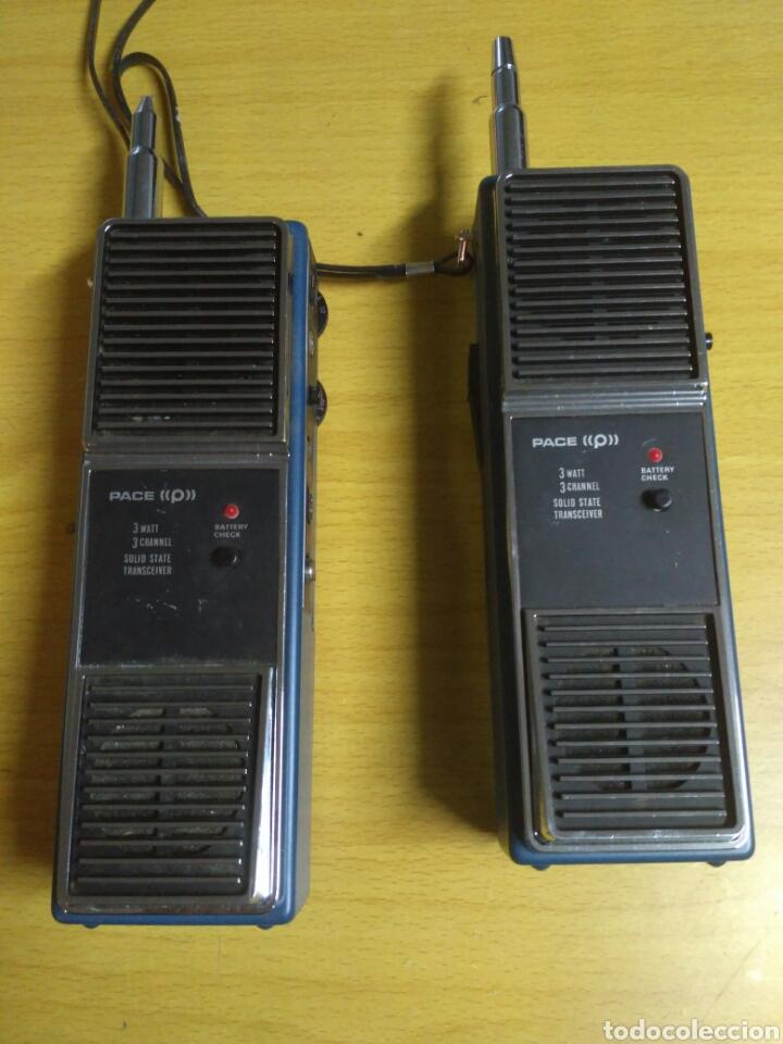 EMISORAS PACE CB 125 ANTIGUAS (Radios, Gramófonos, Grabadoras y Otros - Radioaficionados)