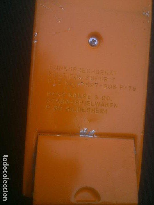 Radios antiguas: ANTIGUOS WALKIE TALKIE STABO MULTIFON SUPER 7 GERMANY - Foto 3 - 184387383