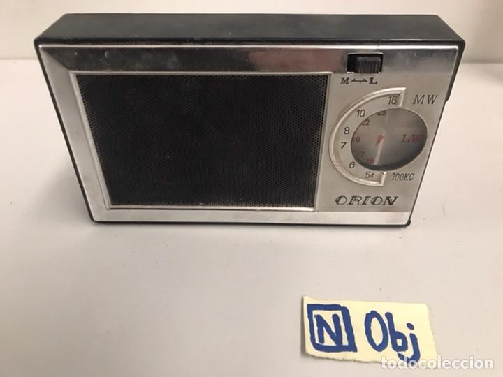 ANTIGUA RADIO ORIÓN (Radios, Gramófonos, Grabadoras y Otros - Radioaficionados)