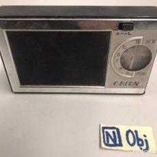 Radios antiguas: ANTIGUA RADIO ORIÓN. Lote 184654141