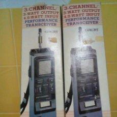 Radios antiguas: DOS EMISORAS GREAT GT-210. Lote 184763755