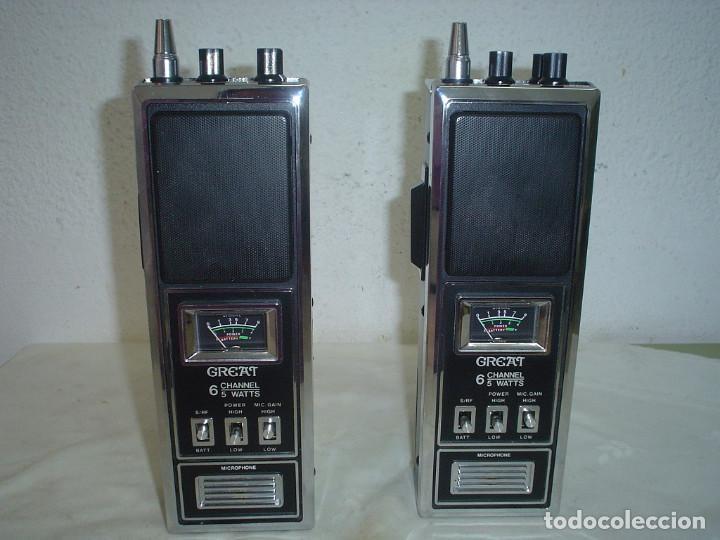 WALKIE-TALKIE GREAT BT- 417 (Radios, Gramófonos, Grabadoras y Otros - Radioaficionados)