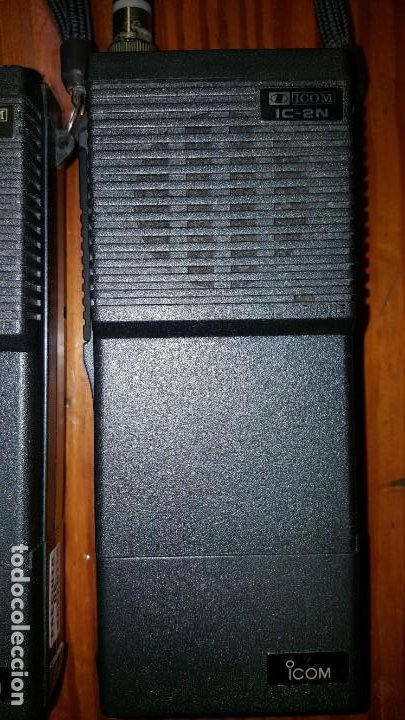 Radios antiguas: EXCELENTE Y RARA PAREJA DE WALKIE TALKIE ICOM IC-2N EN SUS FUNDAS. FUNCIONAN. LEER DESCRIPCIÓN. - Foto 16 - 188509236