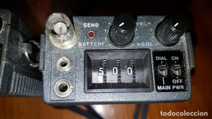 Radios antiguas: EXCELENTE Y RARA PAREJA DE WALKIE TALKIE ICOM IC-2N EN SUS FUNDAS. FUNCIONAN. LEER DESCRIPCIÓN. - Foto 20 - 188509236