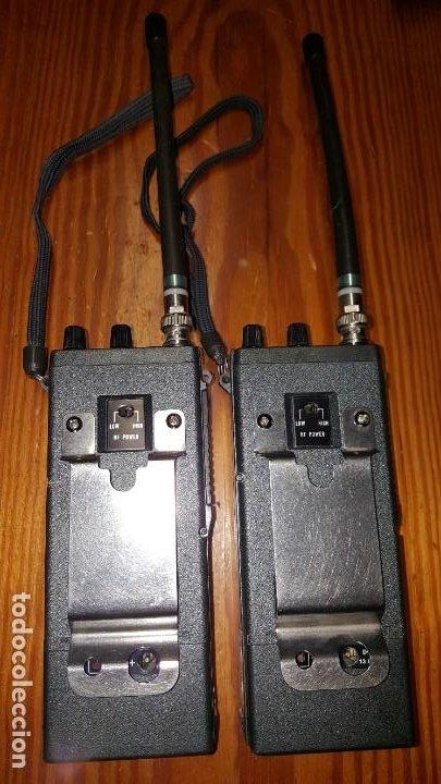 Radios antiguas: EXCELENTE Y RARA PAREJA DE WALKIE TALKIE ICOM IC-2N EN SUS FUNDAS. FUNCIONAN. LEER DESCRIPCIÓN. - Foto 21 - 188509236
